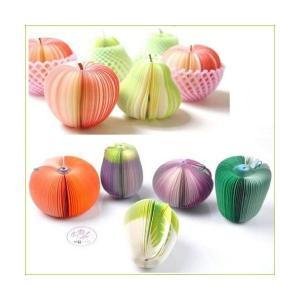 今人気のおもしろ可愛いステーショナリー 野菜そっくりのメモ用紙 くるっと広げてクリップで留めればイン...