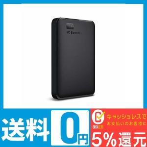 WD HDD ポータブルハードディスク 1TB WD Elements Portable WDBUZ...