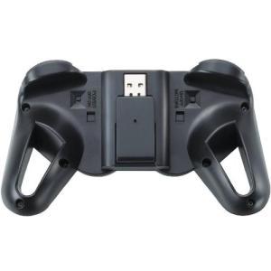 エレコム ゲームパッド ワイヤレス接続 12ボタンアナログスティック搭載 振動/連射 高耐久 ブラッ...