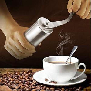 コーヒーミル コーヒーミル手動 コーヒーミル アウトドア 手挽きコーヒーミル 手動式 セラミック製臼...
