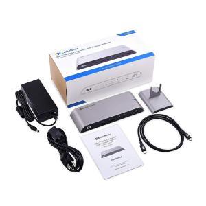 Cable Matters USB C ドッキングステーション USB Type C ハブ USB ...