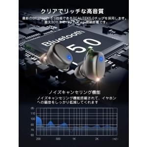 最新版 2019 Bluetooth5.0+EDR搭載 Bluetooth イヤホン Hi-Fi高音質 音量調整可 3Dステレオサウンド 完|hikarigarden