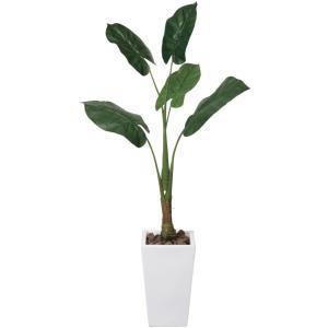 人工観葉植物 くわず芋 1.4m|hikarinorakuen