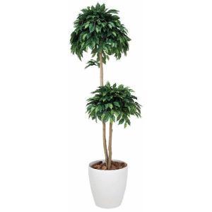 人工観葉植物 ベンジャミンダブル 1.6m hikarinorakuen