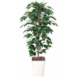 人工観葉植物 フィカスベンジャミン 1.2m|hikarinorakuen