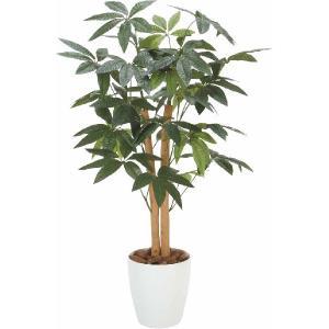 人工観葉植物 パキラ 高さ90cm|hikarinorakuen