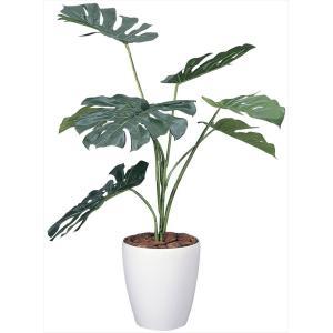 人工観葉植物 モンステラ90 hikarinorakuen