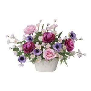 造花アレンジフラワー ローズベール|hikarinorakuen