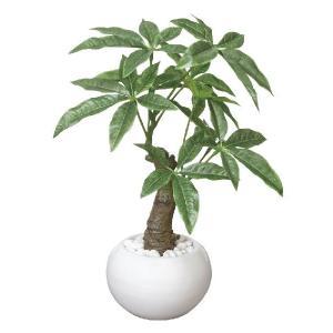 光触媒人工観葉植物 パキラポット|hikarinorakuen