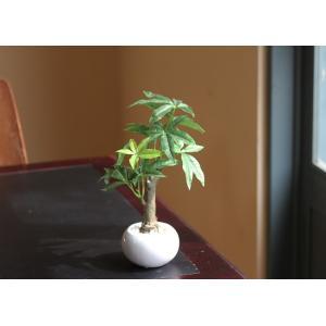 光触媒人工観葉植物 パキラポット|hikarinorakuen|02