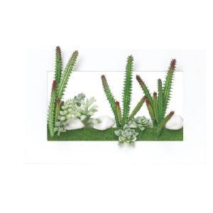 光触媒人工観葉植物 3Dアート多肉植物|hikarinorakuen
