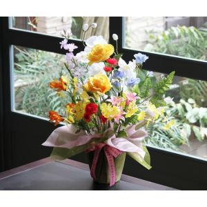 光の楽園 開運8色フラワー 光触媒 造花|hikarinorakuen