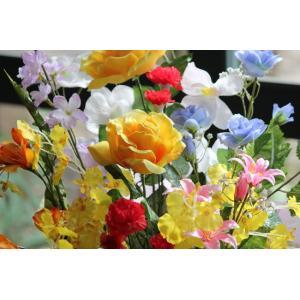 光の楽園 開運8色フラワー 光触媒 造花|hikarinorakuen|02