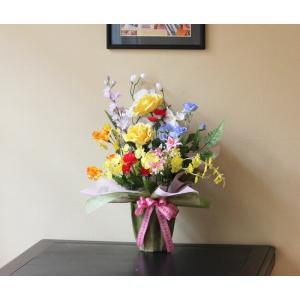 光の楽園 開運8色フラワー 光触媒 造花|hikarinorakuen|04