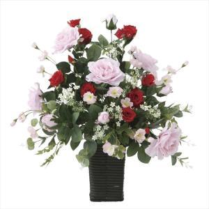 造花アレンジフラワー スエーデンローズ|hikarinorakuen