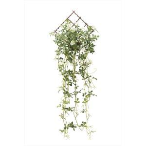 人工観葉植物 壁掛ジャスミン花付|hikarinorakuen|02