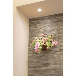 光触媒 光の楽園クリスティピンク 壁掛けタイプアートフラワー(造花)|hikarinorakuen