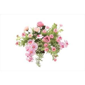光触媒 光の楽園クリスティピンク 壁掛けタイプアートフラワー(造花)|hikarinorakuen|02
