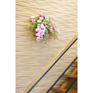 光触媒 光の楽園クリスティピンク 壁掛けタイプアートフラワー(造花)|hikarinorakuen|03