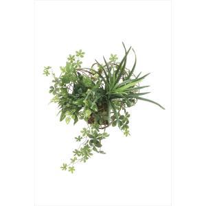 人工観葉植物 壁掛けミックスグリーン|hikarinorakuen
