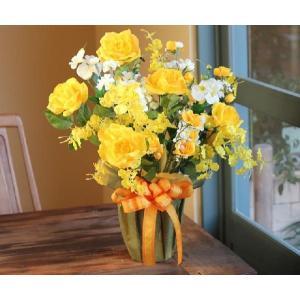 光の楽園 ハッピーローズ 光触媒 造花|hikarinorakuen