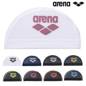 ARN-6414 ARENA(アリーナ) メッシュキャップ<ARENAロゴ> 水泳帽/スイムキャップ/スイミング/プール/水泳小物