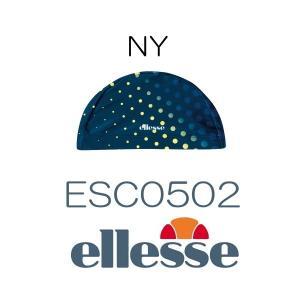 ellesse エレッセ スイムキャップ 水玉 ESC0502