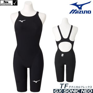 ミズノ 競泳水着 レディース GX SONIC NEO TF  ハーフスーツ MIZUNO TECHNICAL FLEX MODEL N2MG0705 2021年モデル|SWIMSHOPヒカリスポーツ