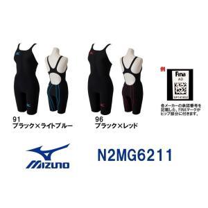 ●●N2MG6211MIZUNO(ミズノ)レディース競泳用水着MX・SONIC02ソニックライトリブテックスハーフスーツ