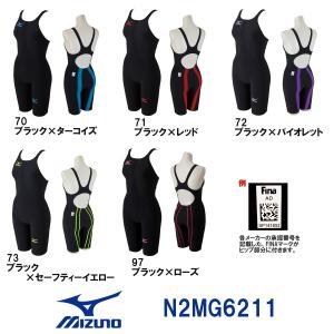 送料無料N2MG6211MIZUNO(ミズノ)レディース競泳用水着MX・SONIC02ソニックライトリブテックスハーフスーツ