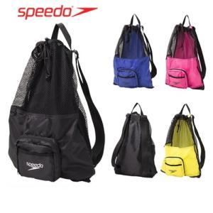 スピード SPEEDO 水泳 ポケッタブルメッシュバッグ SE21911 スイミングバッグ