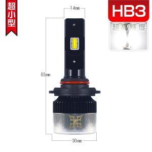 ノートe-POWER HE12 LEDヘッドライト ハイビームHB3 車用 フォーカスライト 車検対応 1年保証 ledバルブ2個 送料無料V2|hikaritrading1
