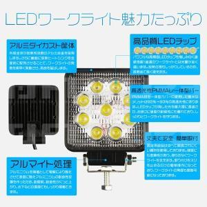 LED作業灯 27W 看板灯 ledワークライ...の詳細画像1