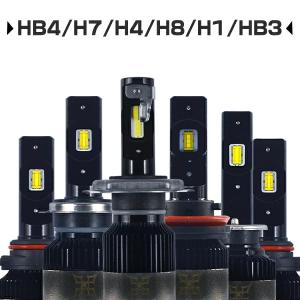 LED フォグランプ ヘッドライト H4 Hi/Lo H1 H7 H8 H11 H16 HB3 HB4 最新FLLシリーズ 車用 ledフォーカスライト 車検対応 1年保証 ledバルブ2個 送料無V2|hikaritrading1