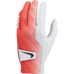 Nike Golf ■Nike テック グローブ LH -108 ホワイト/ブラック/マックスオレンジ M GG0519|hikaritv