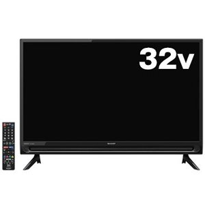 シャープ 32V型液晶テレビ AQUOS 2T-C32AC2