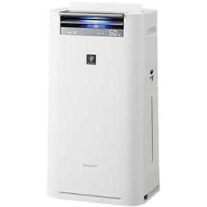 シャープ 加湿空気清浄機 プラズマクラスター25000 ホワイト KI-HS50-W