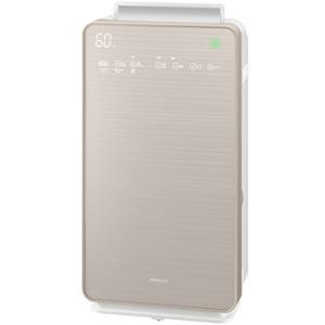 日立 加湿空気清浄機 クリエア シャンパンゴールド EP-NVG90-N|ひかりTVショッピング