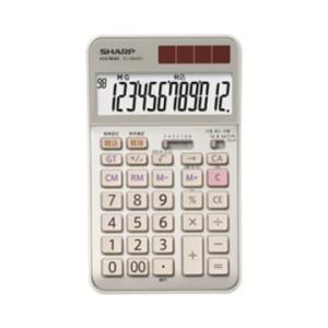 SHARP ■経理・事務仕様 実務電卓 EL-N942CX