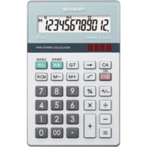 SHARP ■ナイスサイズタイプ実務電卓 EL-N412K