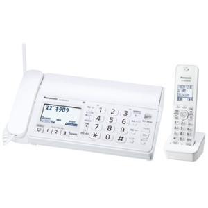 パナソニック KX-PD205DL-W デジタルコードレス普通紙ファクス(子機1台付き)(ホワイト)