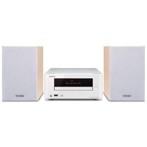 ONKYO Bluetooth対応 CDミニコンポーネントシステム(ホワイト) X-U6W