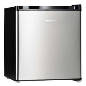 ドメティック 1ドア 冷蔵庫 42L シルバーステンレス&ブラック 小型冷蔵庫 DS42|hikaritv