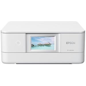 EPSON A4インクジェット複合機/多機能/Wi-Fi/ホワイト EP-880AW