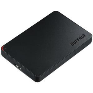 バッファロー ポータブル外付けHDD 500GB 2.5インチ USB3.0用 ブラック HD-PCF500U3-BD