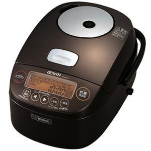象印 圧力IH炊飯器 極め炊き 5.5合炊き ブラウン NP-BH10-TA
