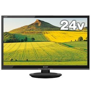 シャープ 24V型液晶テレビ AQUOS 2T-C24AC2