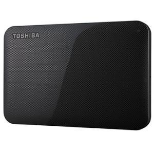 東芝 ポータブルHDD CANVIO BASICS 1TB ブラック HD-AC10TK