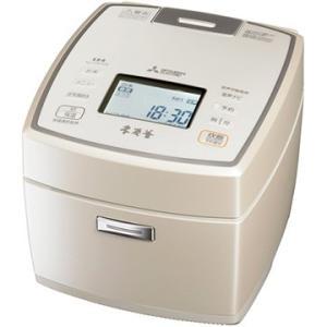 三菱電機 IH炊飯器 本炭釜 5.5合炊き 白和三盆 NJ-VW109-W