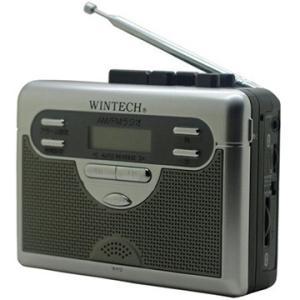 WINTECH ラジオ付テープレコーダー PCT-11R2|hikaritv